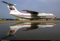 Air Koryo (North Korea) Il-76 freighter