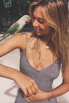 "alexisren: "" Alexis Ren in Maldives 🌴 "" Alexis Ren Hair, Celebrity Outfits, Celebrity Style, Suspender Dress, Beach Hair, Tank Dress, Pretty People, Hot Girls, Style Inspiration"