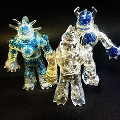 Awesome and insane BLING Ion Men made with crystals.