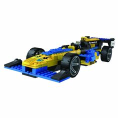 LOZ Diamond Blocks Racing Series - F1 Racing Cars Blue & White
