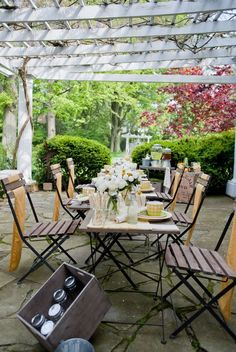 "from Style Me Pretty, ""Tea Party Photo Shoot by DESIGN2DECOR Inc + Visions of Platinum & Garnet"""