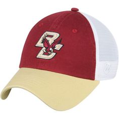 brand new 99753 7983a Men s Top of the World Maroon Boston College Eagles Backroad Trucker  Adjustable Hat