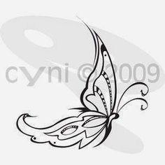 small tribal tattoos | ... designs- tribal butterfly tattoo maori ideas | Tattoo tribal pictures