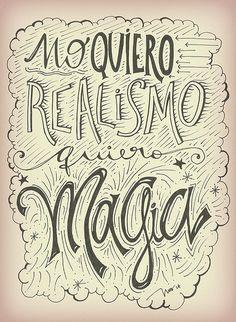 Quiero quierooo que la Magia nos acompañe siempre <3