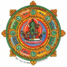 Green Tara Protection Amulet