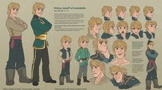 http://frozenmusings.tumblr.com/post/73660146133/joseff-character-sheet-kristoff-and-annas-son