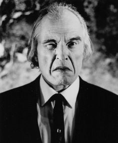Angus Scrimm is probably best known as The Tall Man in the Phantasm series.  Got to see him in person at the LA premiere of another Coscarelli film and he's friggin cool as all get up.