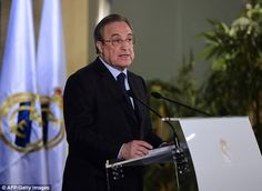 Florentino Perez made an official announcement last Thursday that Real Madrid will oppose any sanction