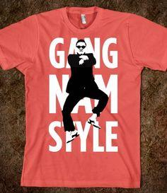 GANGNAM STYLE t-shirt @Mallie Wells