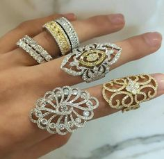 Diamond Rings, Diamond Jewelry, Gold Rings, Cocktail Rings, Jewerly, Fashion Accessories, Women Jewelry, Wedding Rings, Rose Gold