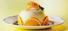 Sinaasappel-yoghurtbavarois