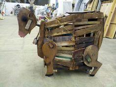 wooden cow - Google-søk
