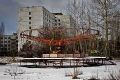 The Chernobyl Power Plant located outside the town of Pripyat, Ukraine (11 miles from the city of Chernobyl) began construction in the 1970s with the first reactor. Description from eviland666-google.blogspot.com. I searched for this on bing.com/images