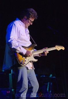 Vince Gill (born April 12, 1957) is an American country singer-songwriter and multi-instrumentalist. He's a great player and Strat Brother Mark Knopfler once invited Gill to join Dire Straits