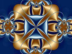 fractal satin