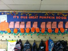 Charlie Brown Hallway Display! Share your pumpkin writing and pumpkin classroom activities!