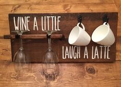 Wine a little, laugh a latte! How to tell time :)