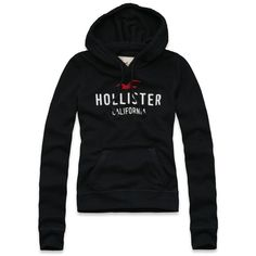 Hollister Co Crescent Bay Hoodie ($30) ❤ liked on Polyvore