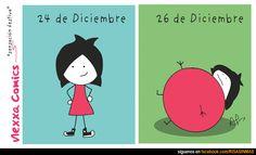 Antes y después de Navidad, cualquier parecido con la realidad, es mera coincidencia....
