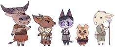 Dragon Age x Animal Crossing Is Varric a teddy bear? That makes me love him that much more...