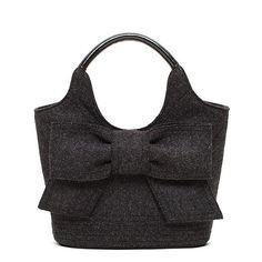 Kate Spade Walker Park fabric tote. As winter draws near, charcoal becomes a staple.