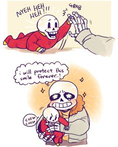 *sadly looks at them and smiles * I've finished my pacifist run.....sans......please forgive me for what I'm going to do.