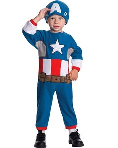 Captain America Toddler Boys Costume