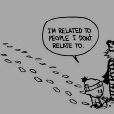 Calvin and Hobbes: oh and I am not talking about six degrees of separation.
