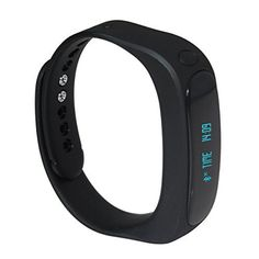 Otium Fit Bluetooth 4.0 IP57 Waterproof Smart Bracelet Sports Fitness Tracker Smart Wristband with Pedometers Notification Alert Anti-lost for Android and iPhone Smart Phone (Black) - http://www.exercisejoy.com/otium-fit-bluetooth-4-0-ip57-waterproof-smart-bracelet-sports-fitness-tracker-smart-wristband-with-pedometers-notification-alert-anti-lost-for-android-and-iphone-smart-phone-black/fitness/