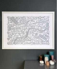 Image of Famille Summerbelle hand screen prints London
