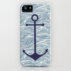 anchor iPhone & iPod Case by studio VII - $35.00 http://society6.com/vivinicolin/anchor-eJY_iPhone-Case