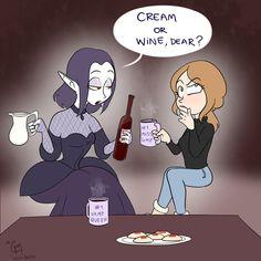 Vampire Series, Tea Party, Chibi, Fanart, Family Guy, Fictional Characters, Fan Art, Fantasy Characters, Tea Parties
