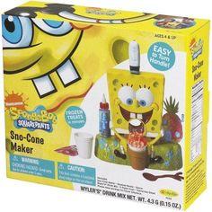 Little Kids SpongeBob SquarePants Sno-Cone Maker, Yellow