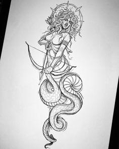 Medusa Tattoo Design, Tattoo Designs Wrist, Tattoo Design Drawings, Tattoo Sketches, Leg Tattoos, Black Tattoos, Sleeve Tattoos, Greek Mythology Tattoos, Medusa Gorgon