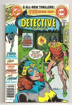 Detective Comics #489 (1980) Batman Big Sized Issue