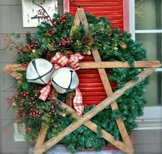 Bethlehem star wreath