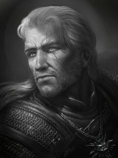 Fast Drawing: Geralt of Rivia by TamplierPainter on DeviantArt