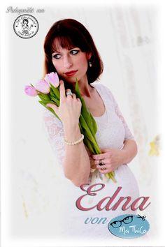 """Meine """"festliche Version"""" von der Edna. Ein tolles E-Book von MaThiLa....Hier war ich beim Babybauchfotoshooting :-))  facebook.com/irinas.kunst.de"""