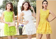 Promotion Summer Dresses New Fashion 2013 For Women's Green Plus Size Lace Vintage Casual Club Wear Vestido Sexy Mini Sundress $18.86