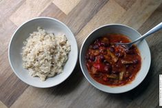 Die Kleine Küche: Smoky Red Peppers & Beans Gumbo