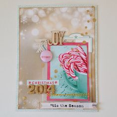December Daily Title Page by Jenni.young at @studio_calico