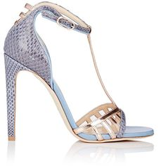 1c62a22b9004 Chloe Gosselin Hyacinth T-Strap Sandals ( 940) ❤ liked on Polyvore  featuring shoes