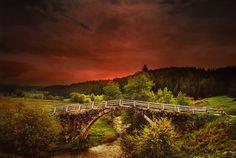 Beautiful bridge.  By Silvia S.