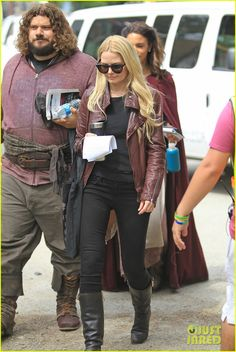 Jennifer Morrison Arrives On Set for 'Once Upon a Time' & It's Getting Us Pumped for Season Four!