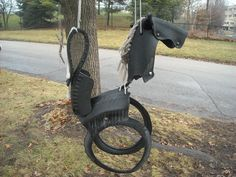Cool way to reuse tires.