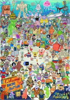 Liste aller Charaktere – SpongePedia, die weltweit größte Enzyklopädie über SpongeBob Schwammkopf