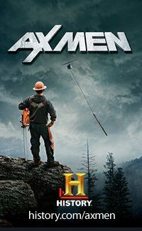 Ax Men...I love this show because of Shelby Stanga...He's just to funny.