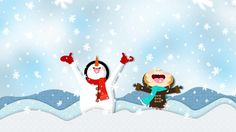 Best Winter Snow Cartoon