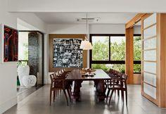 Sala de Jantar do apartamento de Gilberto Gil e Flora.