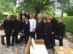 El monarca emérito degustó el domingo el menú de Andoni Luis Aduriz.